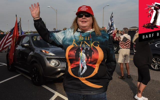 QAnon Tearily, Tragically Recking With Shock That Biden Is President
