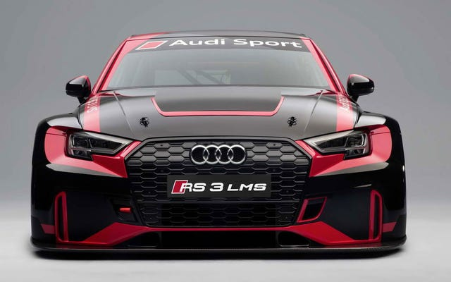 L'Audi RS3 LMS est l'un des moyens les moins chers d'obtenir une vraie voiture de course
