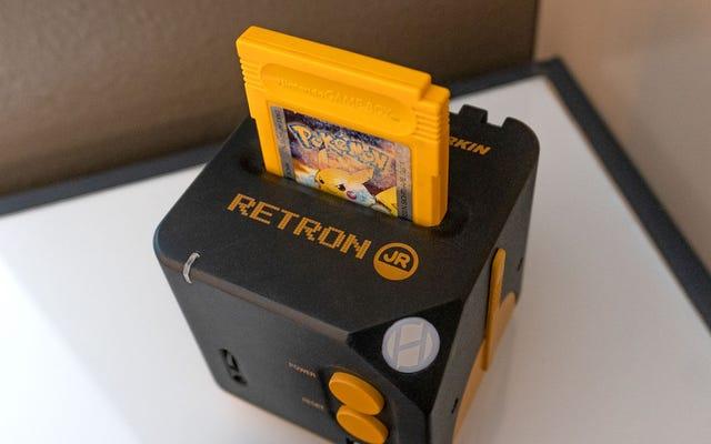 RetroN Jr - это консоль, которая позволяет вам играть в любую игру Game Boy на современном телевизоре.