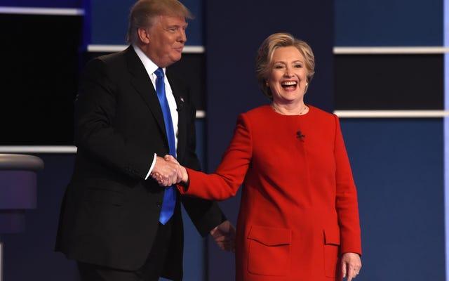 クリントンが勝った、トランプが失われた、そして月曜日の夜の討論からの他の3つのポイント