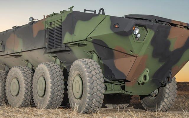 これらの1つは、次の米海兵隊水陸両用戦闘車になります