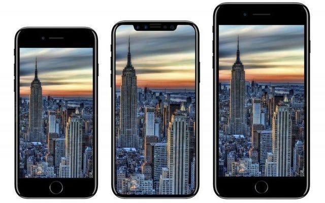 नई लीक के अनुसार, Apple के स्मार्टफोन की अगली पीढ़ी को iPhone 8 और iPhone X संस्करण कहा जाएगा
