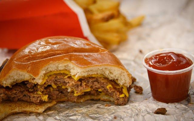 ポイント/対位法:ケチャップはハンバーガーに属しますか?