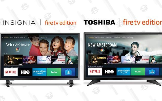 あなたが3番目のテレビを探しているなら、これらの100ドルのFireTVセットは盗みです