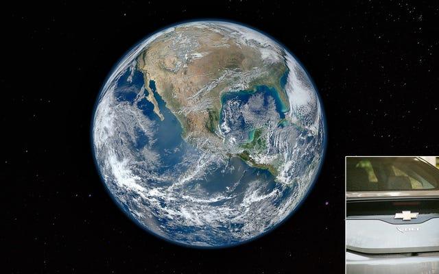 การศึกษาใหม่พบวิธีเดียวที่จะย้อนกลับการเปลี่ยนแปลงสภาพภูมิอากาศหากทุกคนบนโลกใช้ Chevy Volt