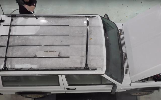 Xem Hướng dẫn sử dụng hai cửa XJ Jeep Cherokee đi từ hoàn toàn bẩn thỉu đến nguyên sơ