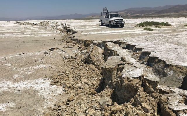 500年間休眠、カリフォルニアの潜在的に致命的な断層が動き始めた