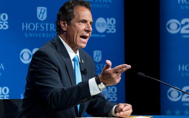 ニューヨーク州知事クオモの大麻政策は黒人をお金から遠ざける