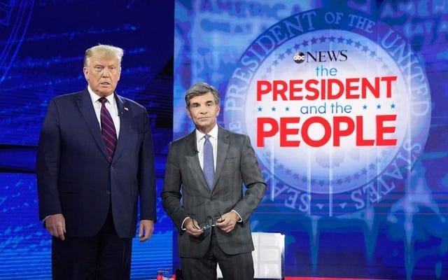 Tổng thống Petty và NBC tổ chức Tòa thị chính vào Cùng ngày và Giờ với Tòa thị chính của Biden trên ABC