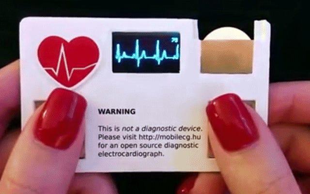 すべての医師の名刺には心拍数モニターが組み込まれている必要があります