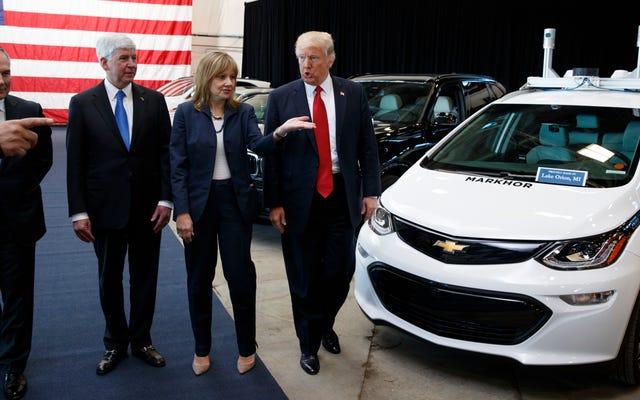 Trump Forces GM, który już zamierzał produkować wentylatory, do produkcji wentylatorów