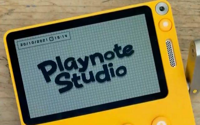 Kreasi Flipnote Studio Temukan Kehidupan Baru di Crank-y Playdate Handheld