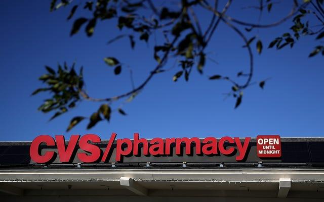 Farmaceuta CVS rzekomo upokorzony, odmówiono kobiecie jej lekarstwa na hormonoterapię