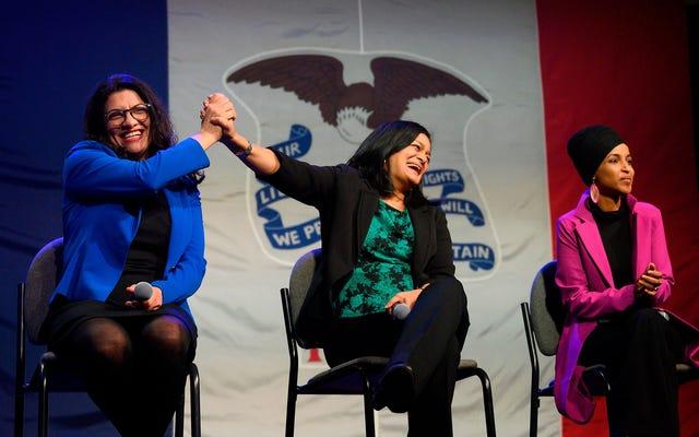 Les démocrates exigent toujours que les femmes de couleur fassent la queue