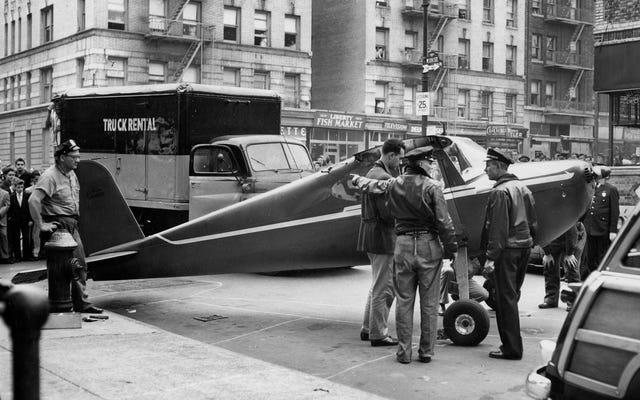 थॉमस फिट्ज़पैट्रिक कहानी: मैनहट्टन बार (दो बार) में उतरने के लिए एक शराबी विमान चुराया हुआ आदमी