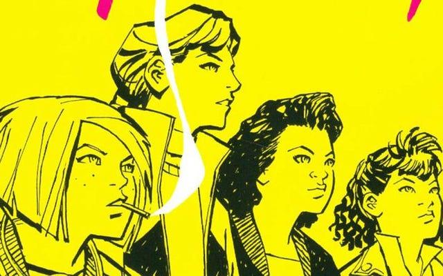 Paper Girlsは、オールスターのクリエイティブチームで魅惑的な謎を解き明かします