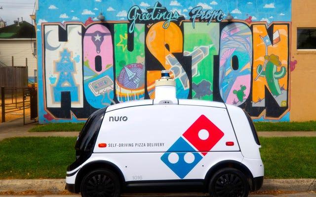 Domino'sには、注文を処理しながら注文を追跡できる新しいピザ配達ロボットがあります。