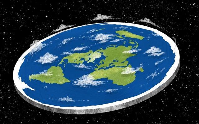 地球が1日だけ平らだった場合はどうなりますか(ヒント:すでに火星にいたらいいのに)