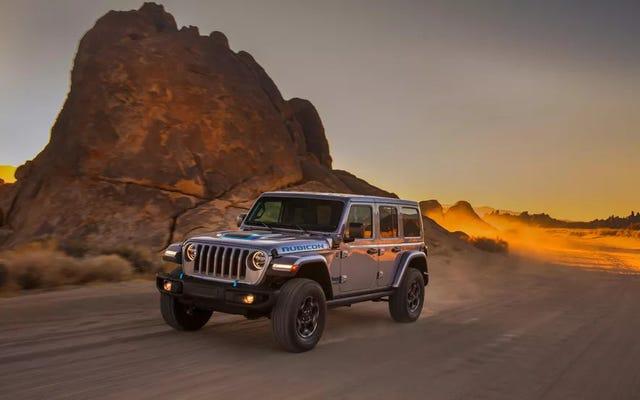 Stellantis risolve i problemi di ricarica di Jeep Wrangler 4xe con le stazioni di ricarica Trailhead