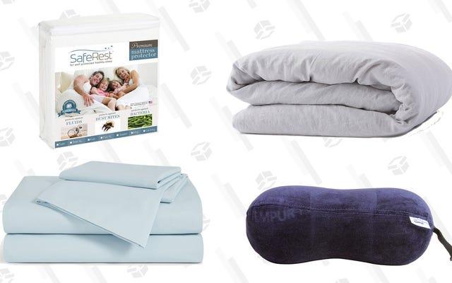 あなたがあなたのベッドに必要なものの徹底的に網羅的なリスト