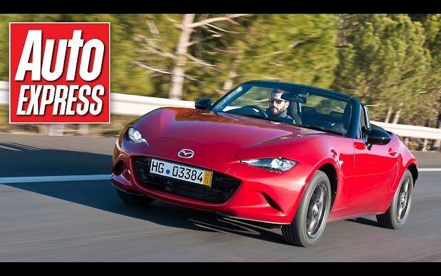Hier ist der erste Video-Test des 2016 Mazda Miata