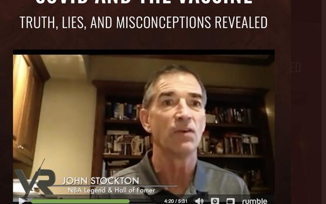 反vaxxerジョンストックトンは「オーバーザトップ」ドキュメンタリーでCOVIDを軽視します