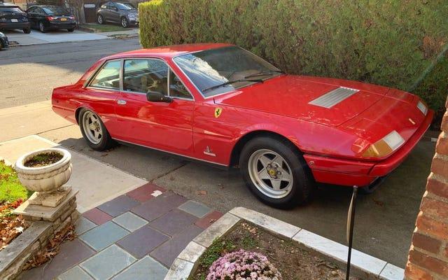 Với giá 59.500 USD, liệu chiếc Ferrari 400 GT 1979 này có thể trở thành một chiếc xe du lịch tuyệt vời?