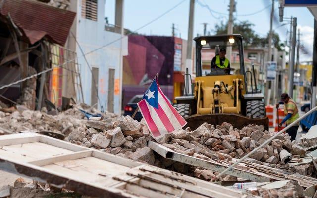 プエルトリコの地震救援活動を支援する方法