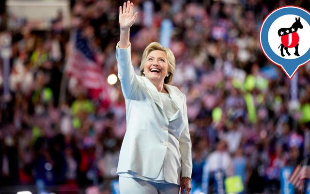 Cảm giác như thế nào khi thấy Hillary Clinton chấp nhận đề cử của mình