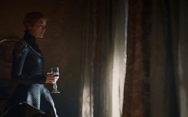 La tenue de Cersei était tellement dope