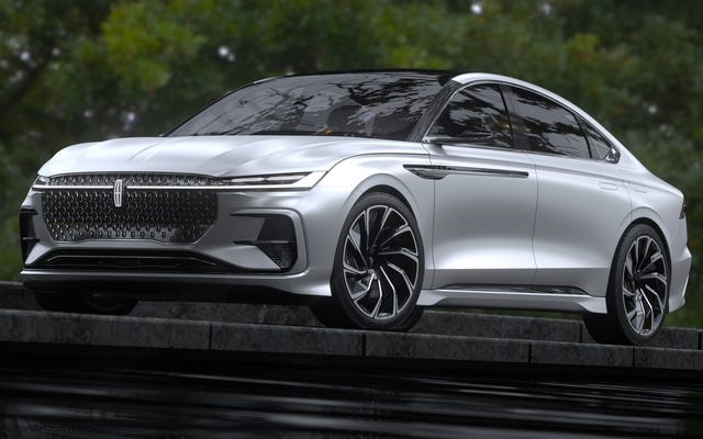 The Chinese 2021 Lincoln Zephyr Concept Could Preview A Hot New Design Language