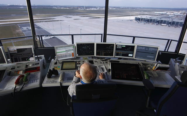 航空交通管制システムによって作られた米国議会議事堂の脅威を調査するFBI