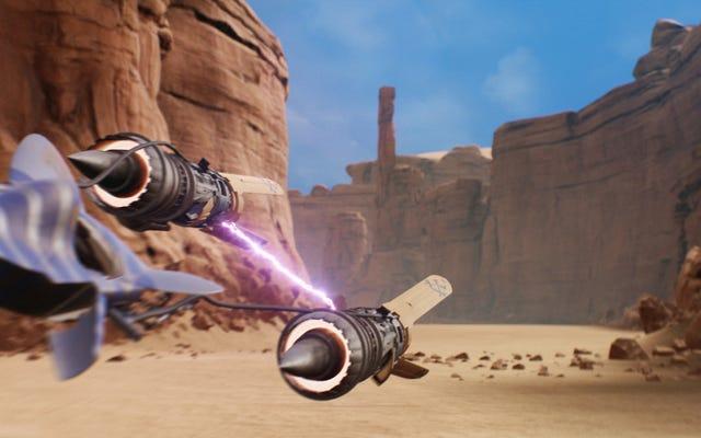 エピソードI:レーサー、Unreal Engine4でリメイク