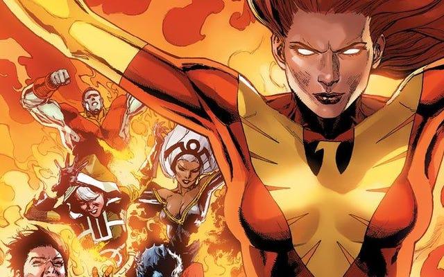 Джин Грей и Феникс возглавят Людей Икс в новой серии комиксов