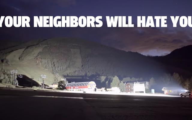 La barra de luces LED para camiones más brillante que jamás haya existido hará que sus vecinos lo odien