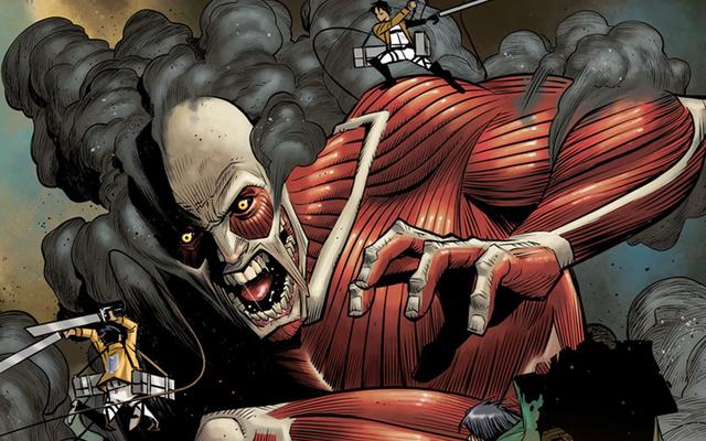 進撃の巨人コミックには、その背後に深刻な才能があります