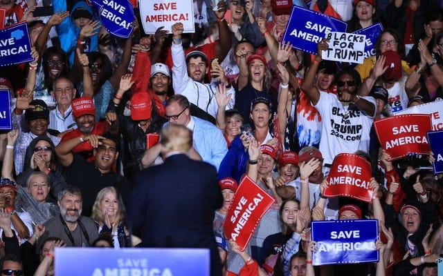 Ankete Göre Trump Seçmenlerinin Yüzde 84'ü Beyaz Ayrımcılığından Endişeleniyor