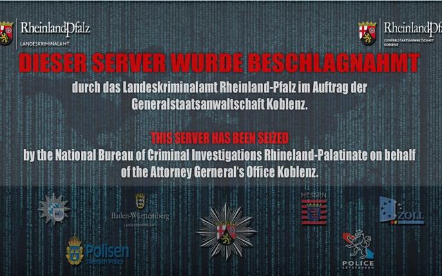 जर्मन पुलिस रेड डाटा सेंटर और कथित साइबर अपराध केंद्र पूर्व नाटो बंकर से बाहर आधारित है