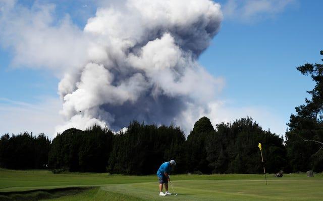 吸盤パンチのゴルファーは、「紳士的な」プレーを混乱させるのにブーズが役割を果たしたと言います