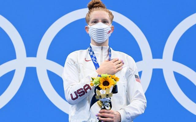 Lydia Jacoby jest tym, co sprawia, że Igrzyska Olimpijskie są wyjątkowe