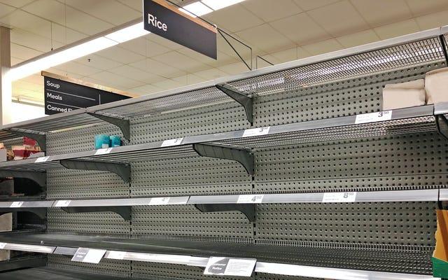 Les premières pénuries d'épicerie COVID expliquées, enfin