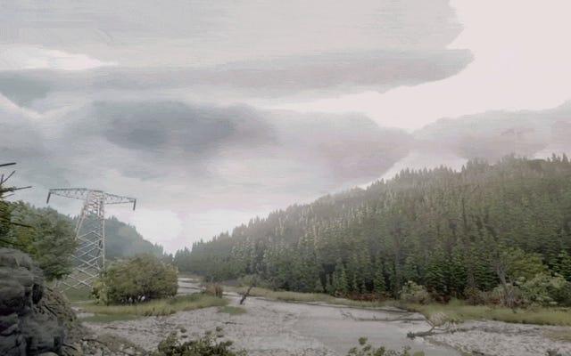 これは本当の森ではありませんが、夢の中で作られた何か