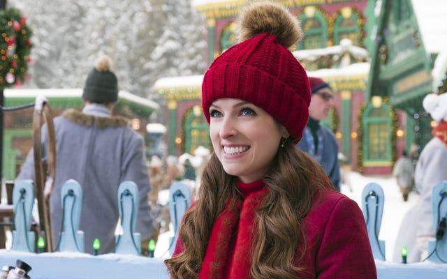 यहां तक कि स्लीघ में अन्ना केंड्रिक और बिल हैडर के साथ, डिज्नी का नोएल कोई क्रिसमस चमत्कार नहीं है