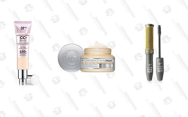 It Cosmetics te ofrece un 25% de descuento para el resto de mayo y rímel gratis