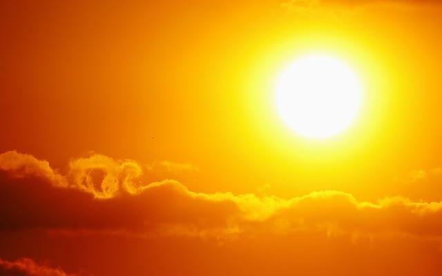 47分で数十年の太陽活動を見る