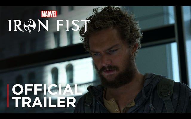 Le dernier défenseur de Marvel arrive à la maison dans la bande-annonce d'Iron Fist