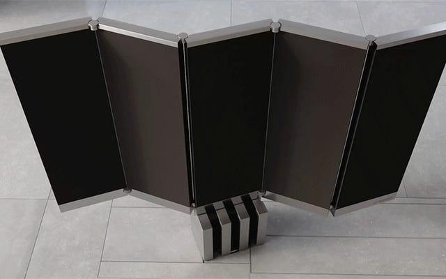 Ce téléviseur MicroLED pliable de 165 pouces de 400000 $ disparaît dans votre plancher