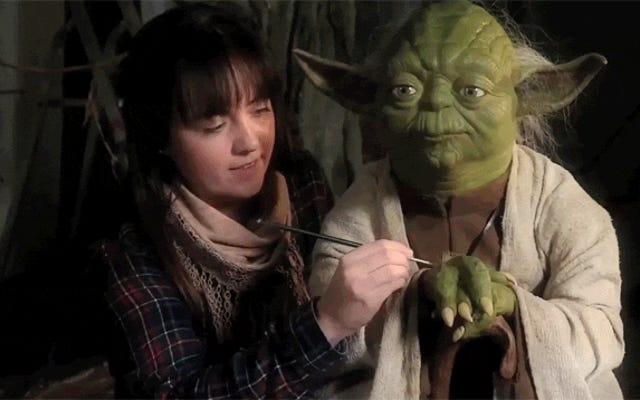 Fare Yoda con la cera non è facile