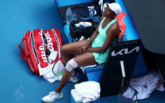 Venus Williams masih di sana