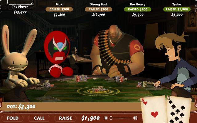 Poker Night At The Inventory là một thời gian khó xử